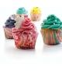 Cápsulas para cupcakes y bombas de baño (100 uds) - Rayas