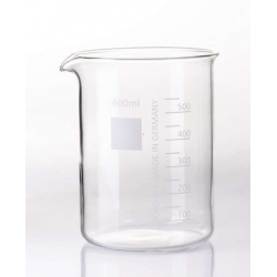 Vaso de laboratorio 600 ml