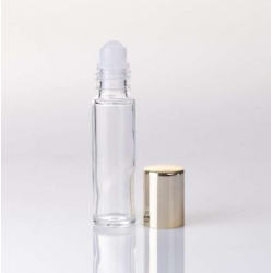 Envase Roll-on 10ml con tapon de oro
