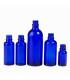 Botella vidrio azul 100 ml (DIN18)