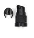 Cabezal dispensador negro (rosca 18 mm)