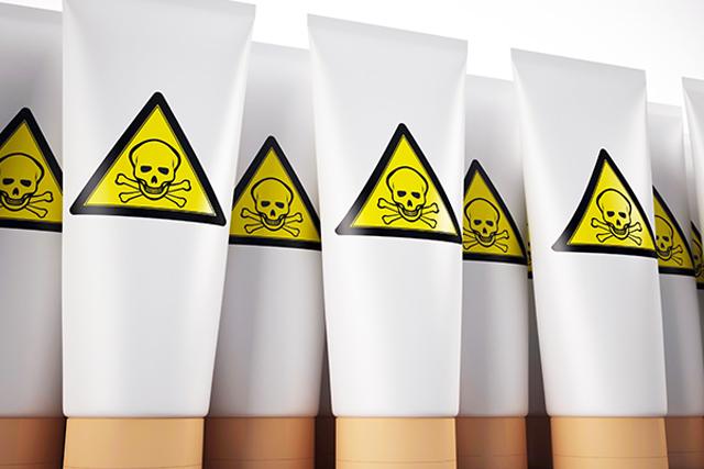 Ingredientes tóxicos en cosmética