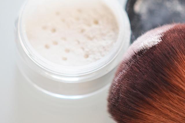 Receta polvos faciales y mineral foundation