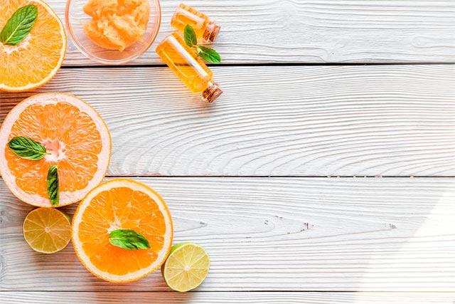Receta mascarilla blanqueadora con naranja