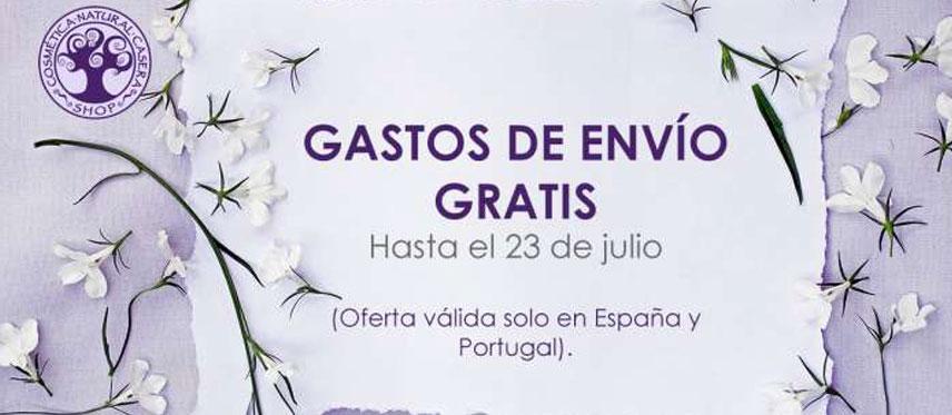 Gastos de envío gratis de 17 a 23 de julio