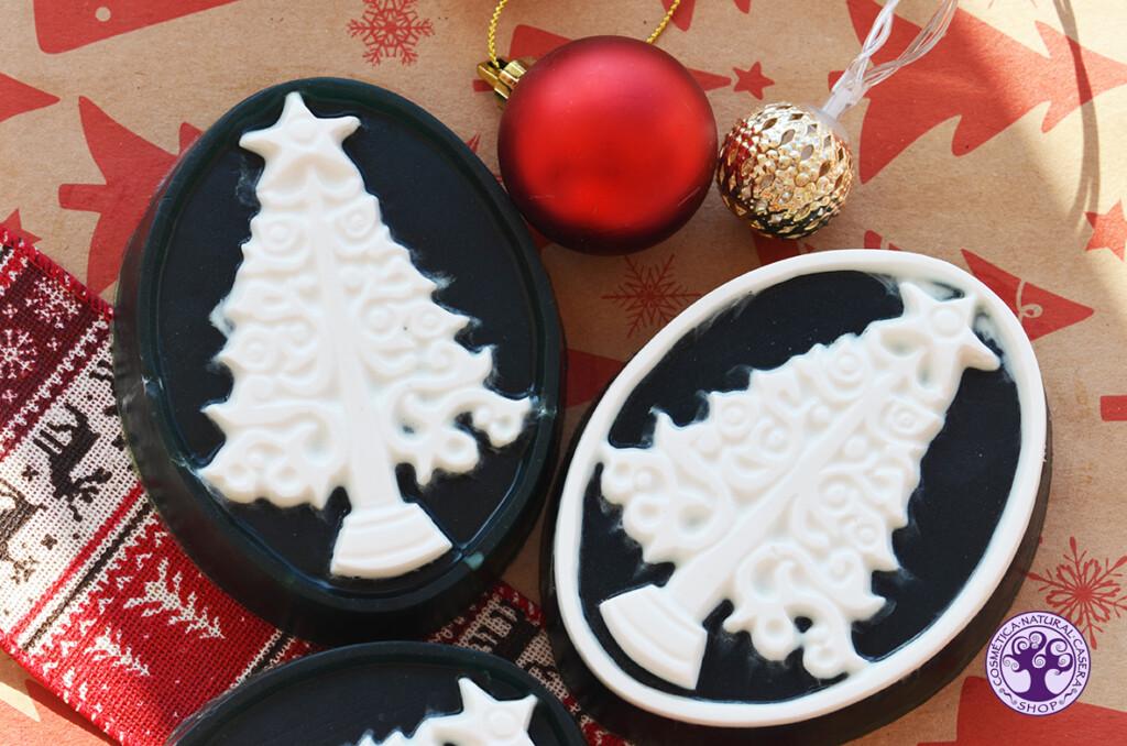 Receta jabón navideño de glicerina