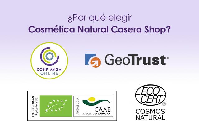¿Por qué elegir Cosmética Natural Casera Shop para la compra de tus productos naturales?