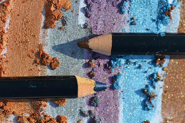 Receta de lápiz de ojos de colores
