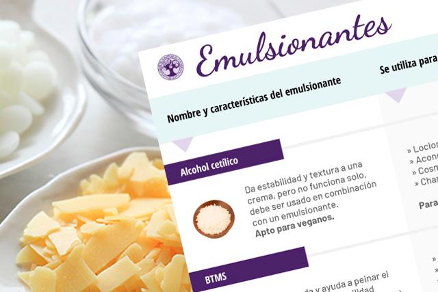 Emulsionantes: qué son y cómo se utilizan – Lección I