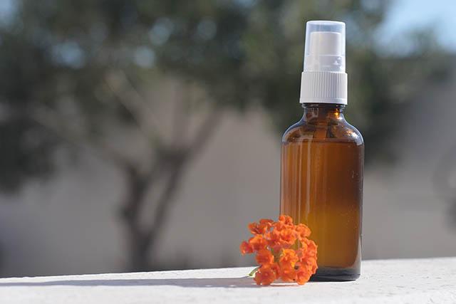 Receta Spray o tónico reafirmante para piel madura