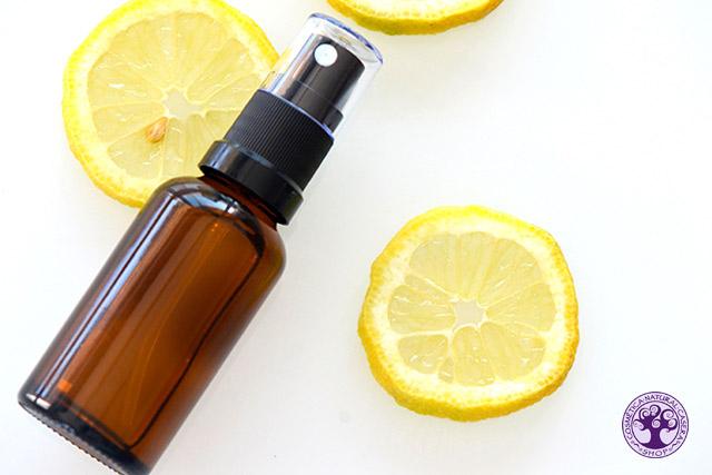 Spray natural y casero para desinfectar el ambiente