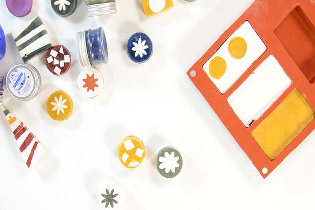 Receta Jabones de glicerina (cuatro diseños diferentes)