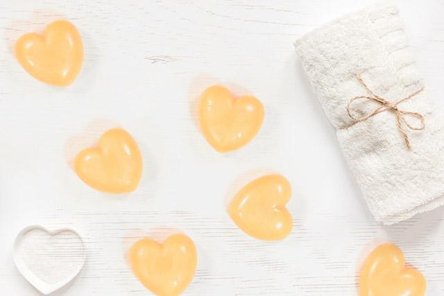 Receta Barra de masaje para San Valentín