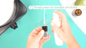Pasos para elaborar tu propio spray capilar protector térmico