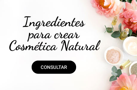 Ingredientes para crear Cosmética natural