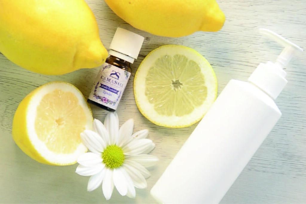 Jabón de manos limón y avena – regenerante e hidratante –