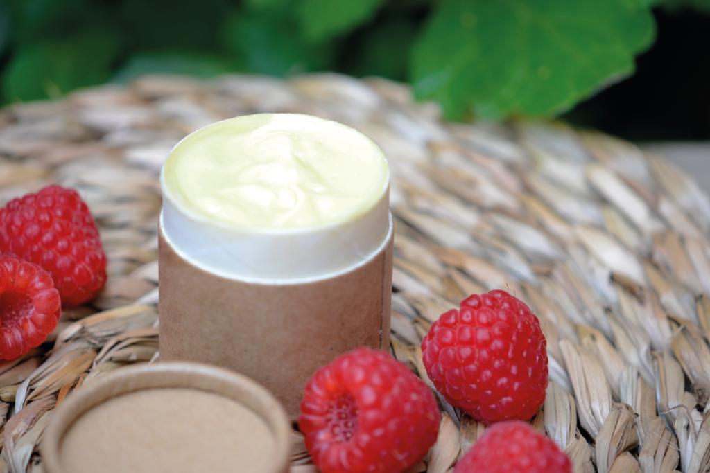 Receta crema de manos hidratante y nutritiva frambuesa