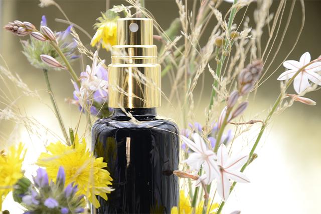 Receta perfume 100% natural con aroma Amaderado/floral