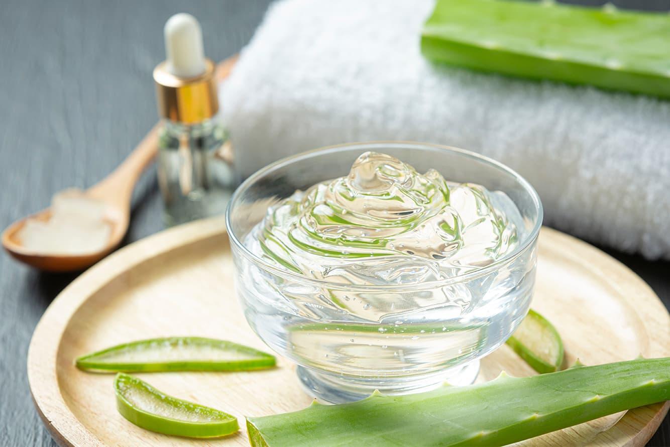 Receta gel de Aloe Vera y Sales del Mar Muerto con principios activos anticelulíticos y reafirmantes