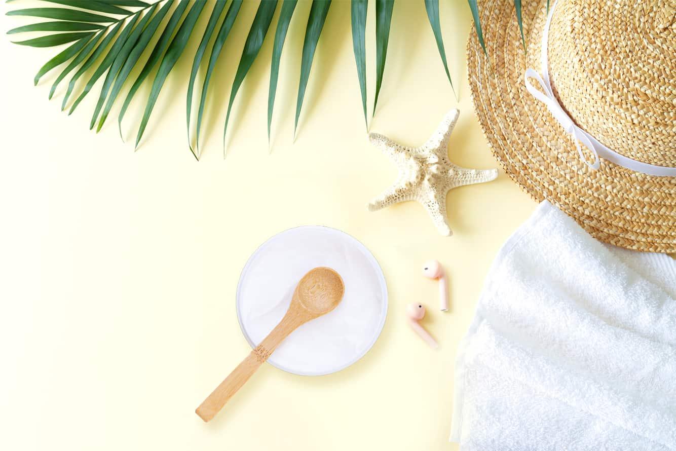 Receta crema facial o corporal con crema base post solar – reparadora